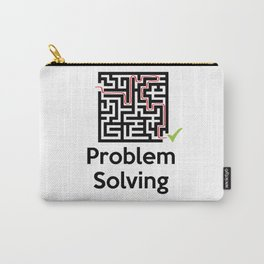 Problem Solving Maze Carry-All Pouch