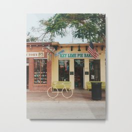 The Original Key Lime Pie Bakery Metal Print