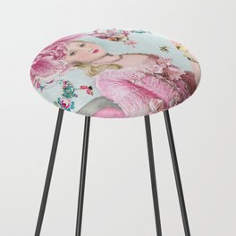 Marie Antoinette Wallflower Counter Stool