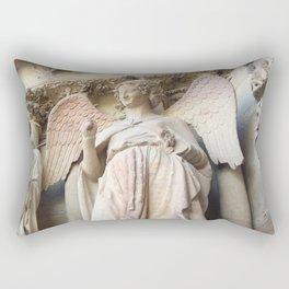 Smile of Reims Rectangular Pillow