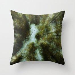Grace Beneath The Pines Throw Pillow