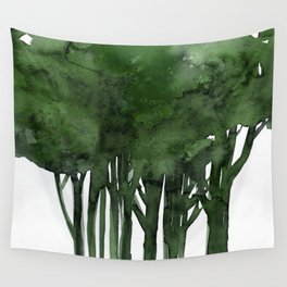 Tree Impressions No.1C by Kathy Morton Stanion Wall Tapestry