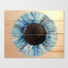 Ice Blue Iris Canvas Print