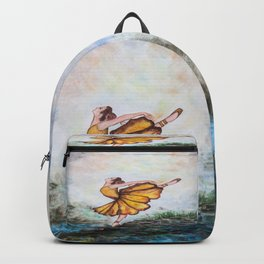 Sunflower Ballerina Backpack