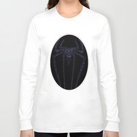 duvet cover Long Sleeve T-shirts featuring SPIDER DUVET COVER by aztosaha
