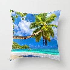 Cute Palma Throw Pillow