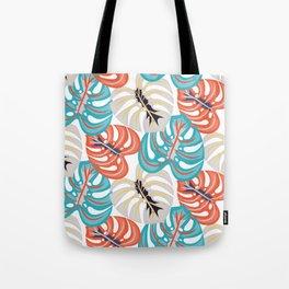 Monstera Patterns Tote Bag