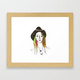 Lorena - SuperFriends Collection Framed Art Print