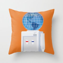 Let Anyone Take A Job Anywhere Throw Pillow