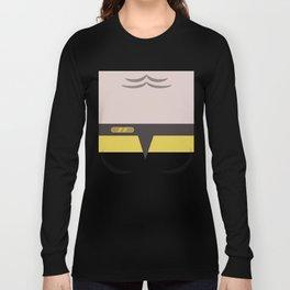 B'Elanna Torres - Minimalist Star Trek: Voyager VOY - startrek - Trektangles - Trektangle - klingon Long Sleeve T-shirt