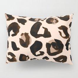 Light Tan Leopard Print Pillow Sham