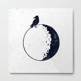 BRIGHT SIDE OF THE MOON Metal Print