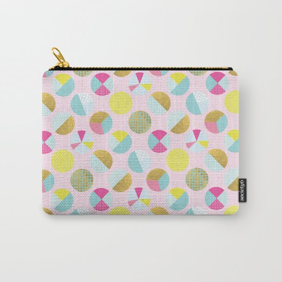 Goldielocks Gold Spots  Carry-All Pouch