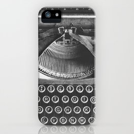 Vintage Typewriter - Before Email iPhone Case