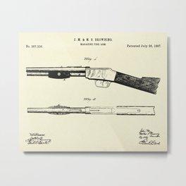 Magazine Fire Arm-1887 Metal Print