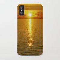 swedish iPhone & iPod Cases featuring Swedish Sunset by LesImagesdeJon