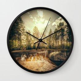 Sonne II Wall Clock