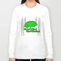 umbrella Long Sleeve T-shirts featuring Umbrella by mailboxdisco