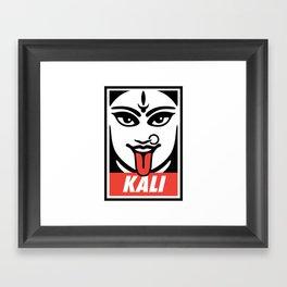 Obey Kali Framed Art Print