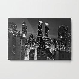 NYC after dark Metal Print