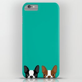 Boston Terriers iPhone Case