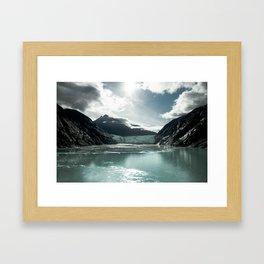 Juneau's Melting Heart Framed Art Print