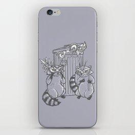 Fancy Raccoons iPhone Skin