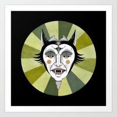 Cat Color Wheel No. 2 Art Print