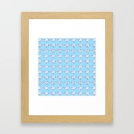 Cispicious Framed Art Print