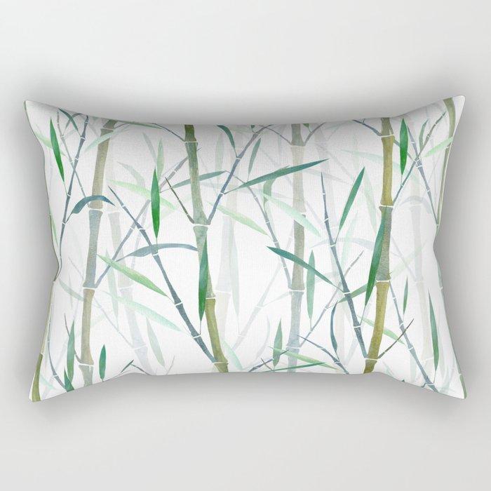 New Bamboo Forest Rectangular Pillow