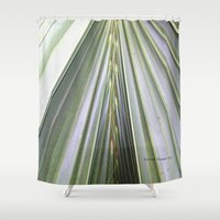 palm Shower Curtains featuring Palm by Autumn Steam