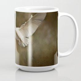 Great White Egret - Landing Coffee Mug