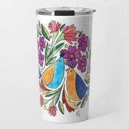 Birds & flore Travel Mug