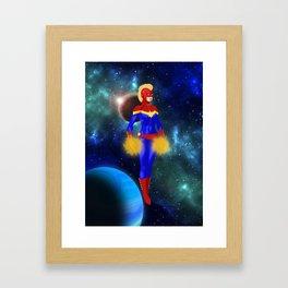 Carol Danvers 1 Framed Art Print