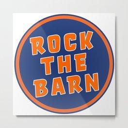 Rock The Barn Metal Print