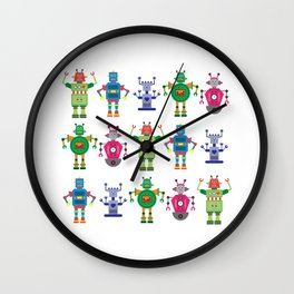 androids Wall Clock