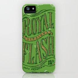 Royal Straight Flash iPhone Case