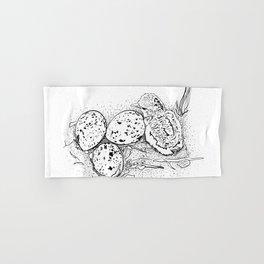 American Oystercatcher nest Hand & Bath Towel
