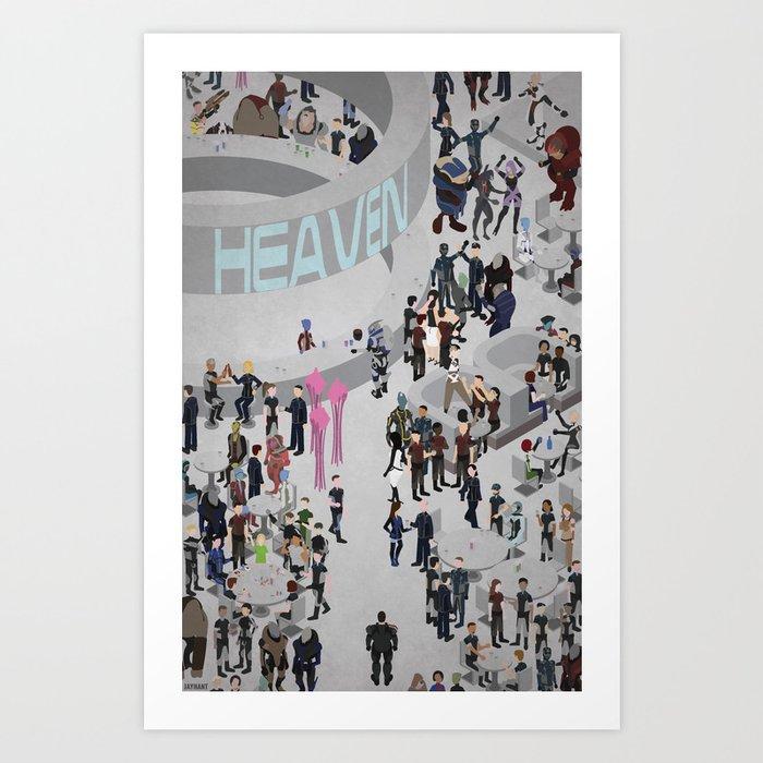 Mass Effect: Bar in Heaven (Maleshep) Kunstdrucke