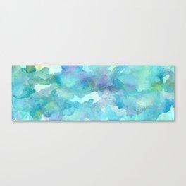 Breathing Under Water (Ocean Clouds) Canvas Print