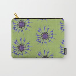 Thin blue flames in a sea of green Carry-All Pouch