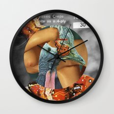 Plume (collab with the talented Marko Köppe) Wall Clock