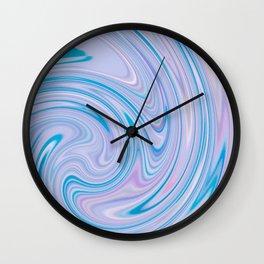 PURPLE FANCY Wall Clock