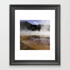 Yellowstone Framed Art Print