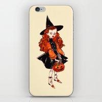 hocus pocus iPhone & iPod Skins featuring Hocus Pocus by Leslie Hung