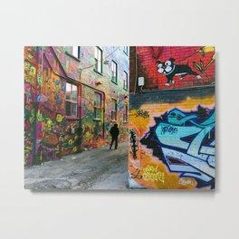 Street Art  Metal Print