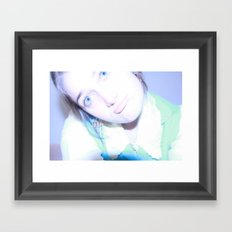 Smug Framed Art Print