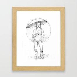 dimah Framed Art Print