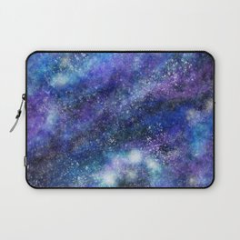Blue Space Galaxy Laptop Sleeve