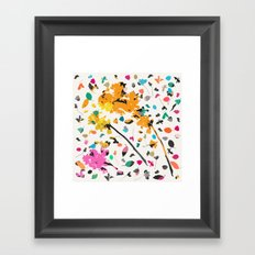 scatter 1 Framed Art Print